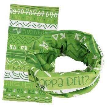 Kappa Delta Wide Head Buff SALE $12.95. - Greek Clothing and Merchandise - Greek Gear®