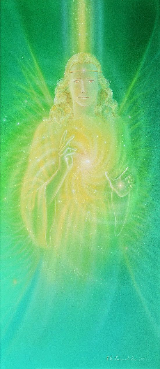 Green Ray of Healing and Science Angel