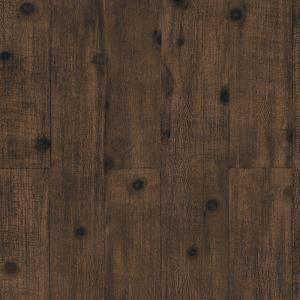 8 In X 10 In Dark Brown Wood Paneling Wallpaper Sample
