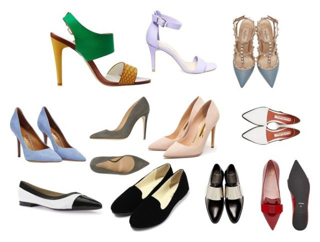 """Shoes for L"" by natalya-dyukina on Polyvore featuring мода, Armani Collezioni, Rupert Sanderson, Givenchy, Geox, Pretty Ballerinas, Salvatore Ferragamo, Acne Studios, Steve Madden и Valentino"