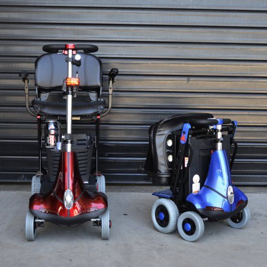 Out and About Healthcare - A0112 - Mobie Folding Mobility Scooter (Mobility Scooters)