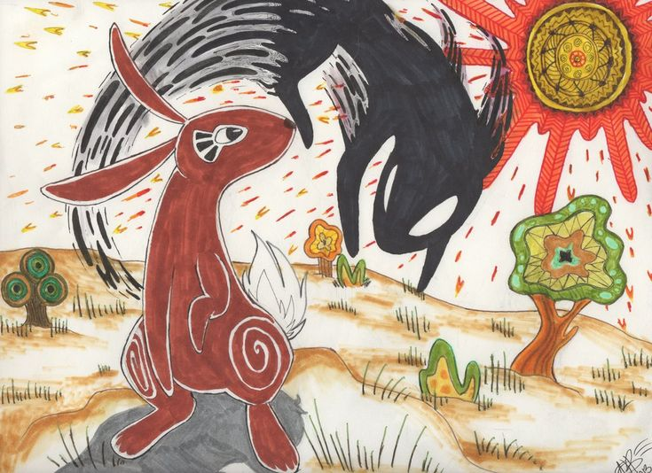 El-ahrairah and the Black Rabbit of Inle.