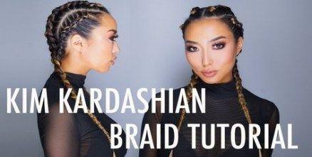 26+ Ideas For Braids Kim Kardashian Boxers – #boxe…