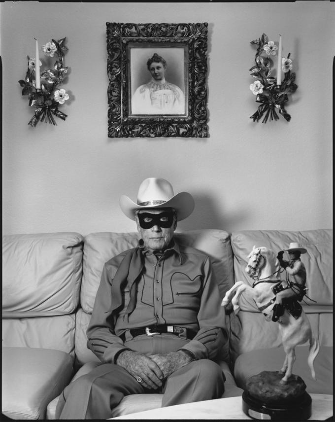 Mary Ellen Mark, Clayton Moore, the Original Lone Ranger, Los Angeles, 1992