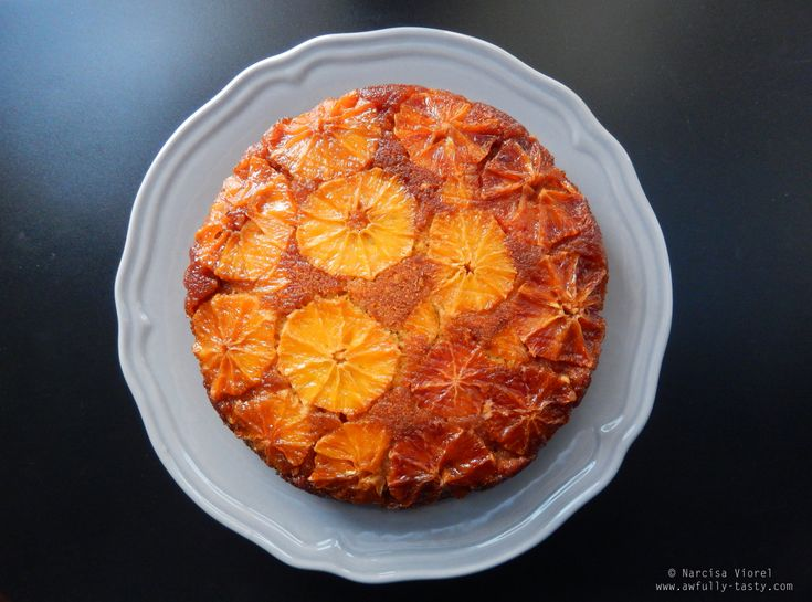 Orange polenta cake by Ottolenghi