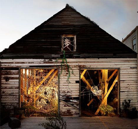 In the wake of Hurricane Katrina, many houses were left - abandoned to the elements and beyond the possibility of repair. One group of artists, however, have found a way to reuse these deserted spaces in artistic ways - creating new spatial experiences around and within what were otherwise depre ...