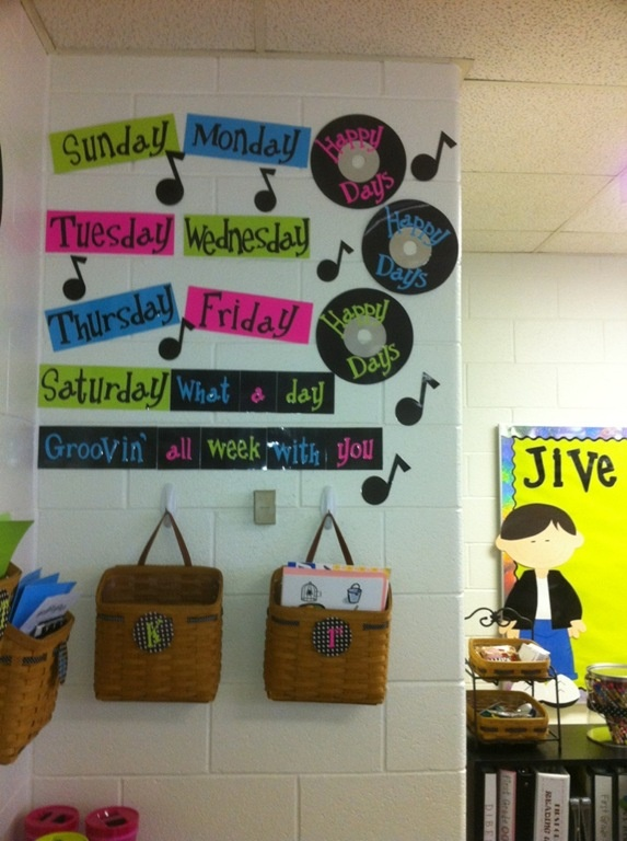 Music Classroom Decoration : Best rock n roll classroom theme images on pinterest
