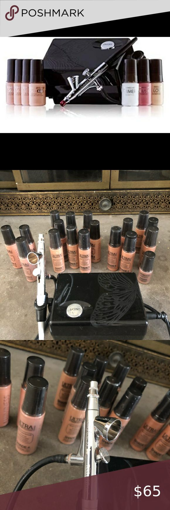 Luminess Airbrush System w/ Foundations / Bronzer in 2020