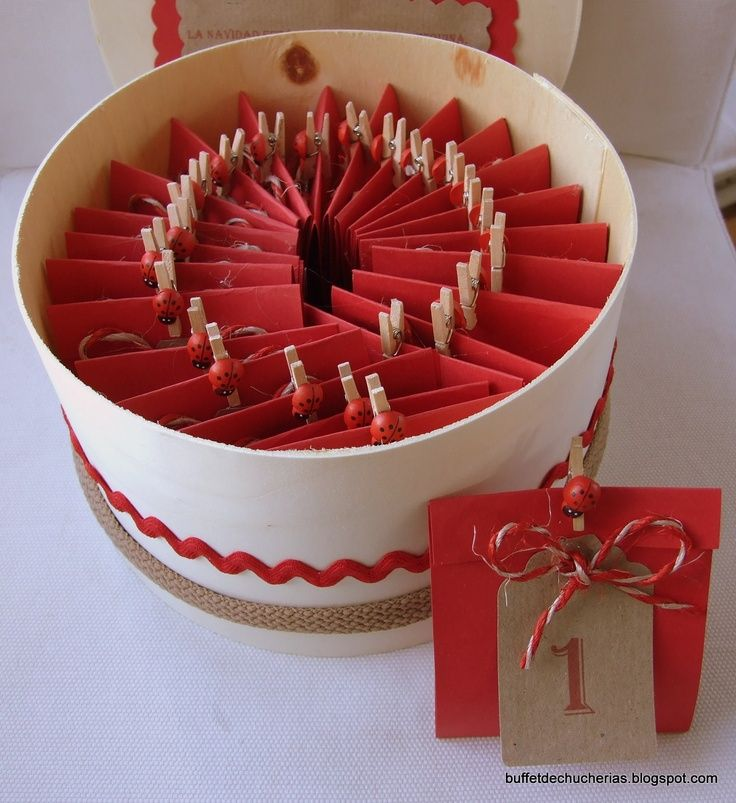 idea for advent calendar ♥