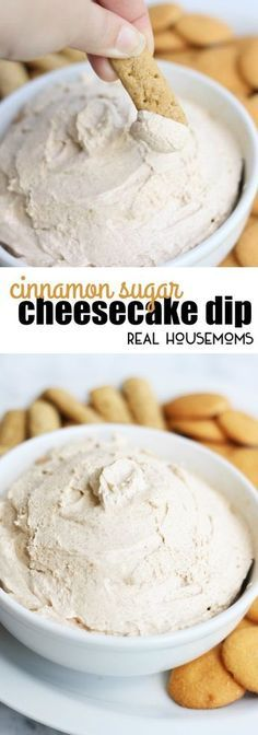Cinnamon Cheesecake Dip