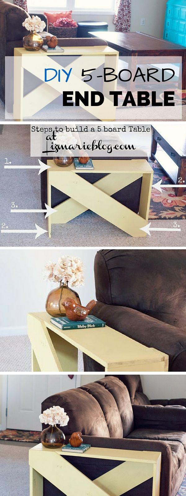 Check out the tutorial on building a DIY 5-Board end table @istandarddesign