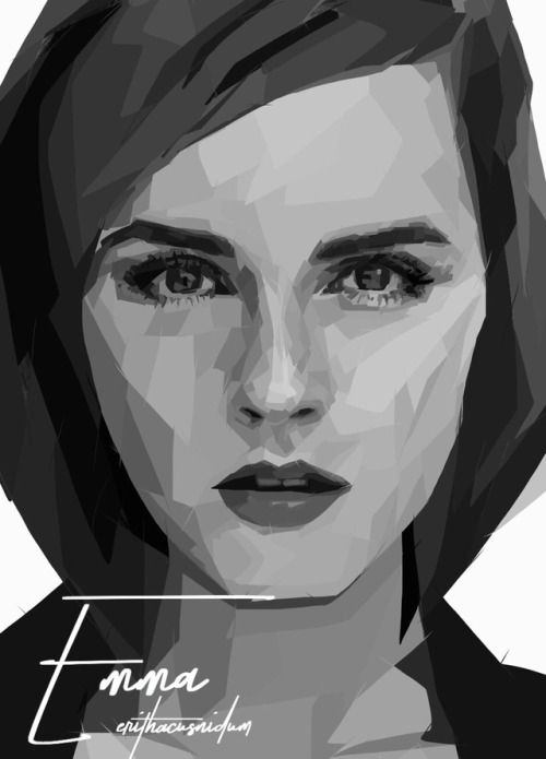Emma Watson - digital drawing please do not remove credit
