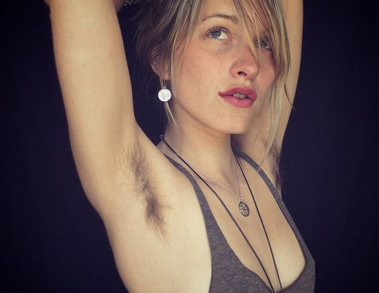 Sexy hairy girls