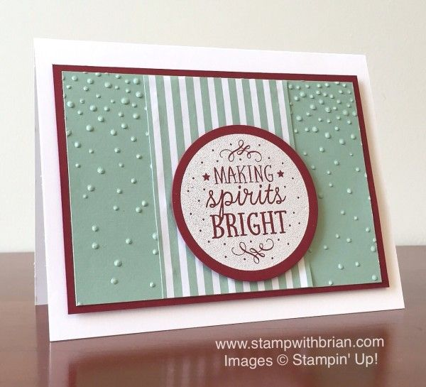 Among the Branches, Softly Falling Textured Impressions Embossing Folder, Stampin' Up!, Brian King: