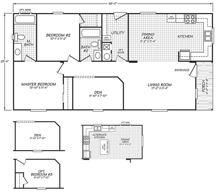 24 best landhomes for sale images on pinterest floor plans oakridge double wide hud manufactured home malvernweather Choice Image