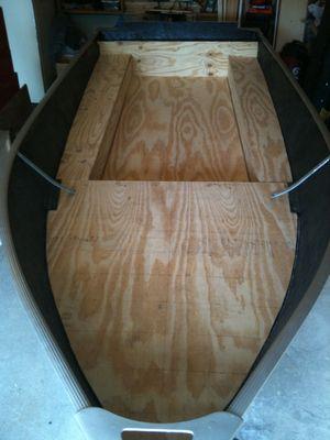 aluminum boat remodel