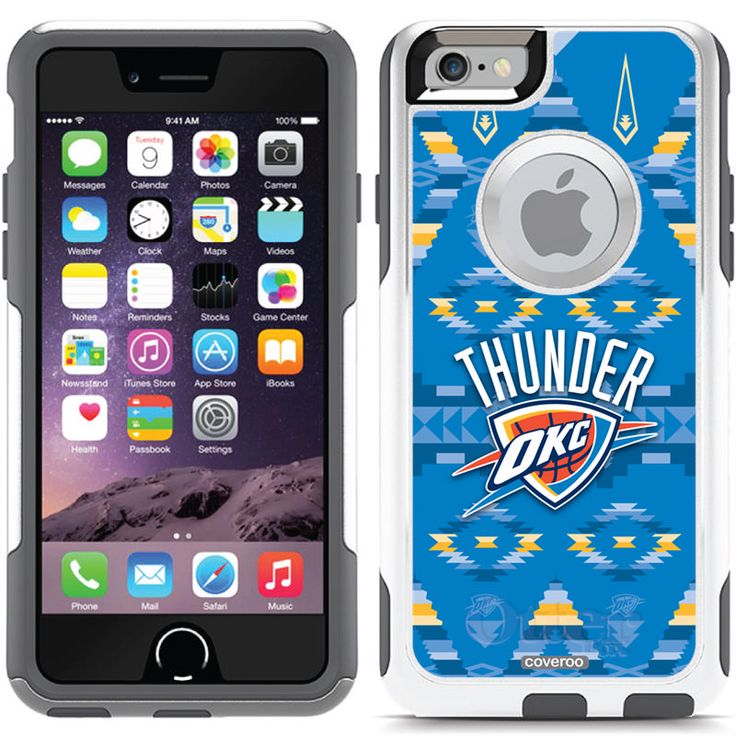 Dallas Mavericks - Chevron Mavs design on OtterBox® Commuter Series® Case for  iPhone 6 in Glacier. Find this Pin and more on OKC Thunder ...