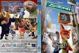 Mega Covers Gtba: Zootopia (2016) R2 - Cover & Label DVD Movie