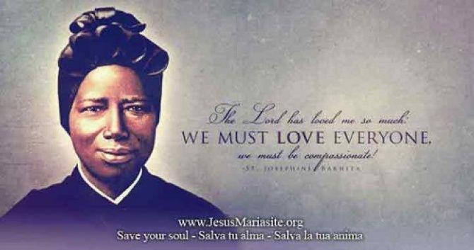 NOVENA PRAYER TO ST JOSEPHINE BAKHITA