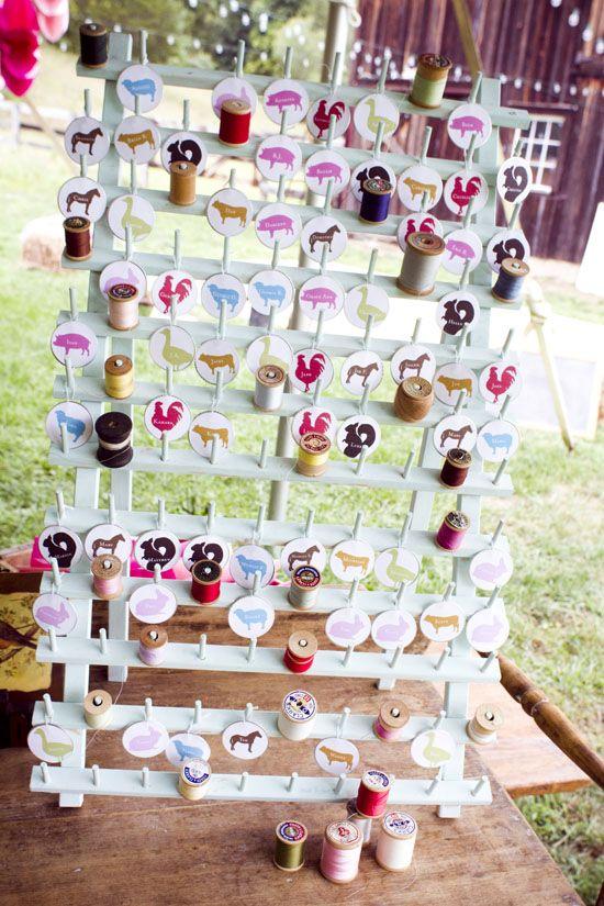141 Best Wedding Escort Card Ideas Images On Pinterest