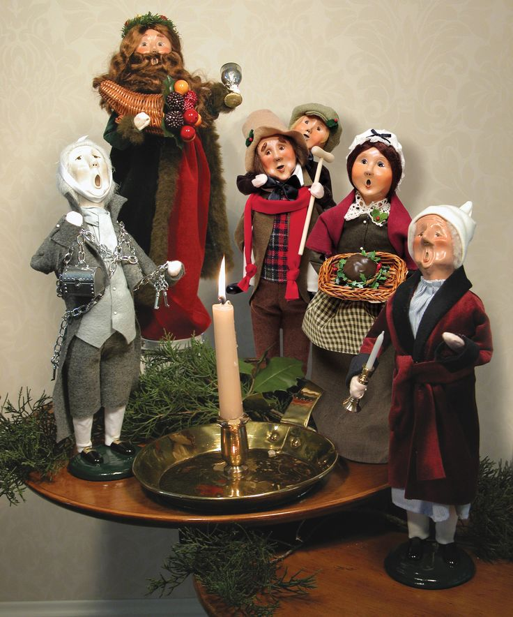 Victorian Christmas Carolers Figurines: 62 Best Decorating With Byers' Choice Carolers! Images On