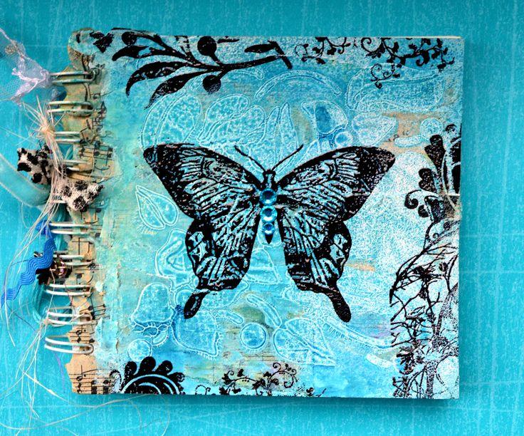 Magenta, Mixed Media, Bellaidea, DT, http://bellaideascrapology.blogspot.ca/2013/09/light-green-for-magenta-challenge.html