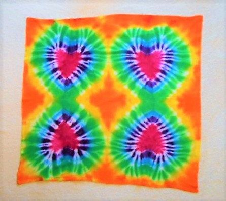 Tie Dye Tapestry// Rainbow with Hearts// Hippy wall art// Valentine's Day gift// colorful wall decoration// hippy decor// Chakra tapestry by FarmFreshTieDyeStore on Etsy