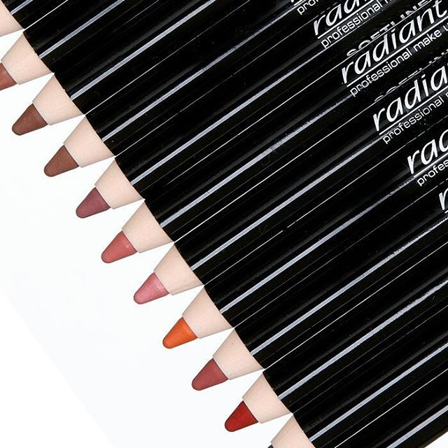 "Our makeup ""school"" is always open so you can choose your favorite pencil of the…"