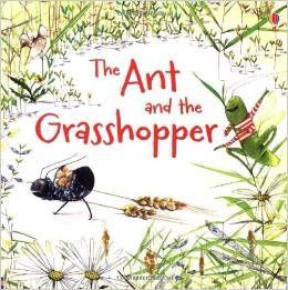 La hormiga y la cigarra extraido de las famosas fabulas de Aesop y los valores que enseñan a nuestros alumnos.