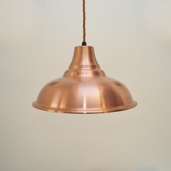 Copper lampshade vintage design