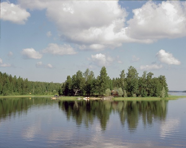 My soul lies on a small island in Luumäki, Finland. There is no photo of it online.