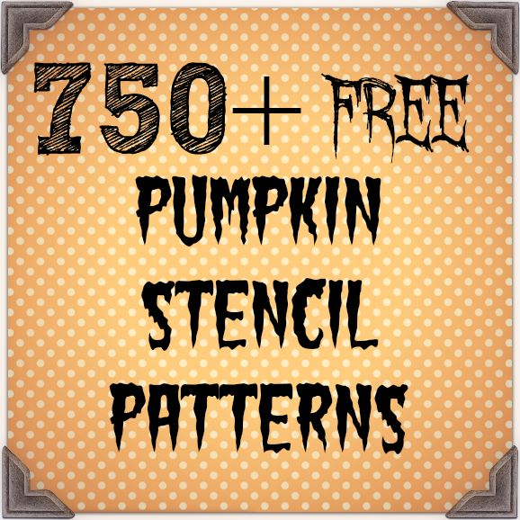 over 750 free pumpkin stencil patterns for your halloween jack o lanterns - Free Kids Stencils