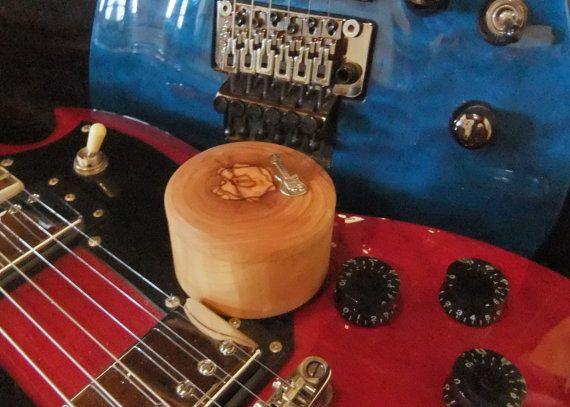Guitar Picks gift set 10 olive wood Plectrums by ellenisworkshop