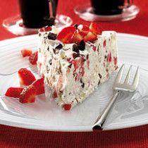 Weight Watchers Lennestadt  Eistorte mit Erdbeeren & Baiser