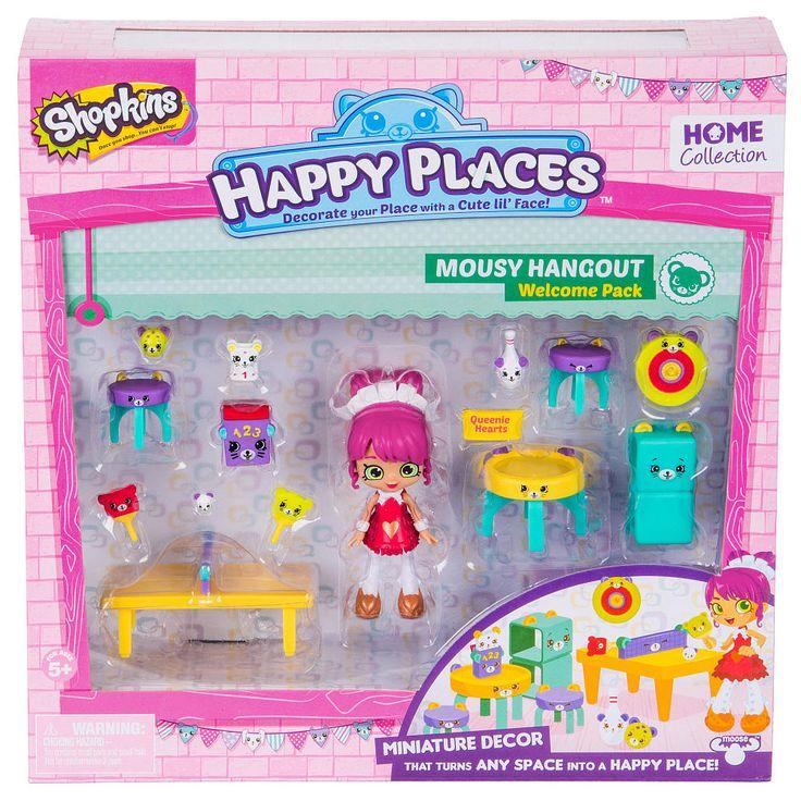 Shopkins Happy Places Miniature Decor Welcome Pack