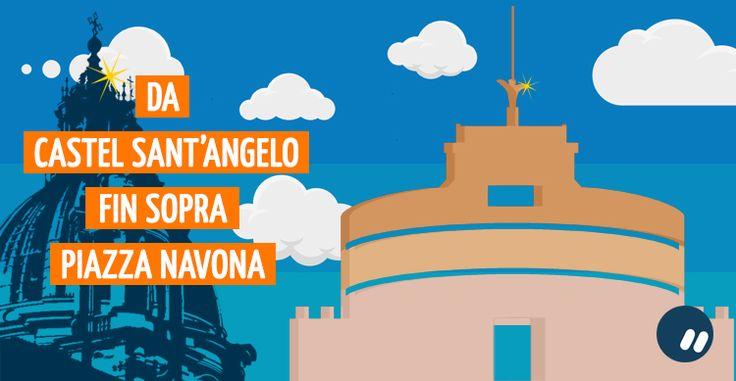 Da Castel Sant'Angelo fino a Piazza Navona dall'alto | #Roma #Rome #PricelessCities
