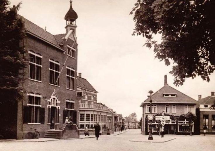 Stadhuis in Rijssen, veel mooier dan het huidige stadhuis.
