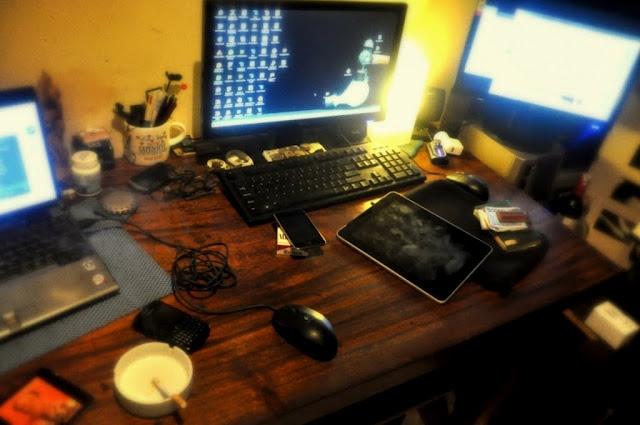 Desk - August 2010