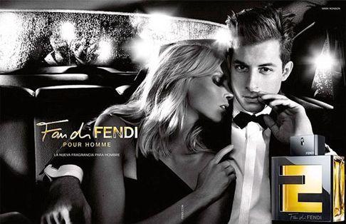 Аня Рубик и Марк Ронсон снялись для Fendi/Anja Rubik and Mark Ronson for Fan di Fendi Pour Homme