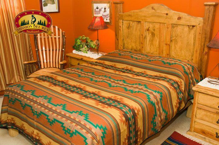 Southwestern Bed Spread KING Size Picuris Design