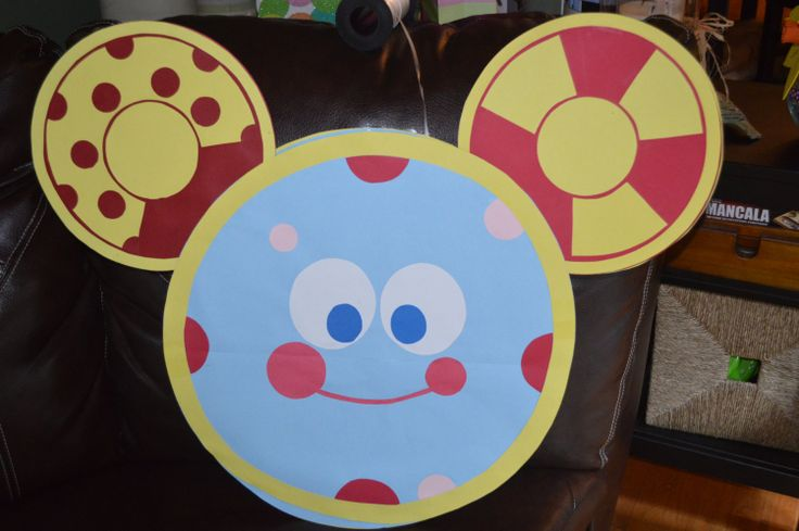 Mickey Mouse Clubhouse Toodles Floating Sign Decoration
