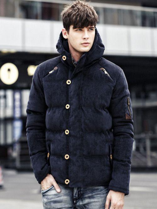 Corduroy Duffle Coat