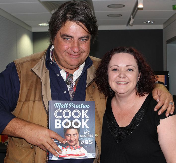 It's always lovely catching up with Matt Preston about his latest cook book.