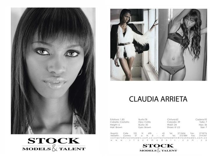 Claudia Arrieta - Modelo Stock Models -