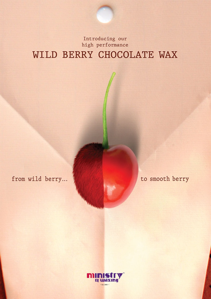 Our sinful chocolate wax can tame the wildest berry in town. #ministryofwaxing