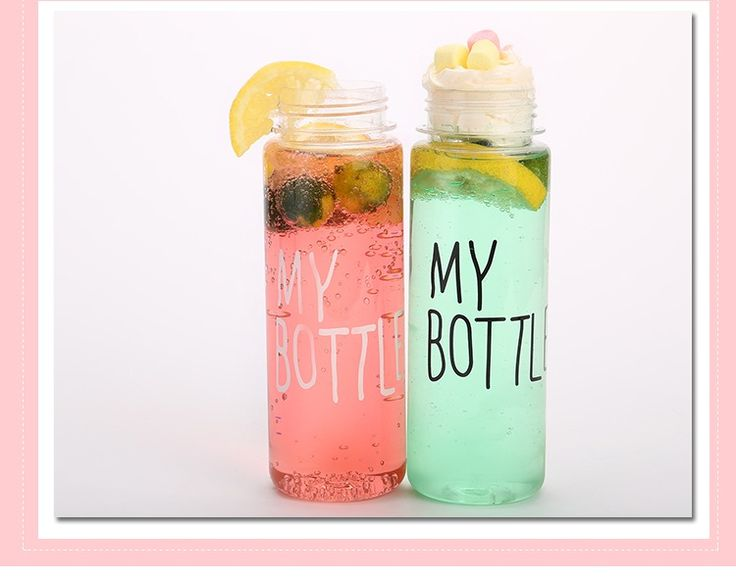 My bottle 500 ml Korea Style Clear Sport Bicycle Fruit Juice Water bottle space cup-in Water Bottles from Home & Garden on Aliexpress.com | Alibaba Group