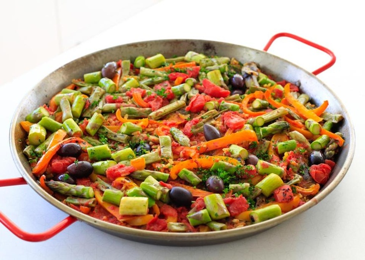 Recipe for vegetable paella | Vegetables, Lifestyle and Food