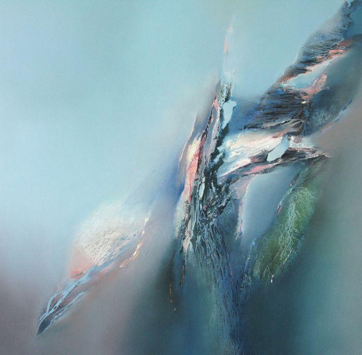 Skybreak with blue by Elaine Jones