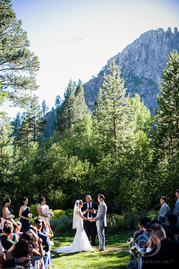 Lake Tahoe Summer Wedding At Squaw Valley