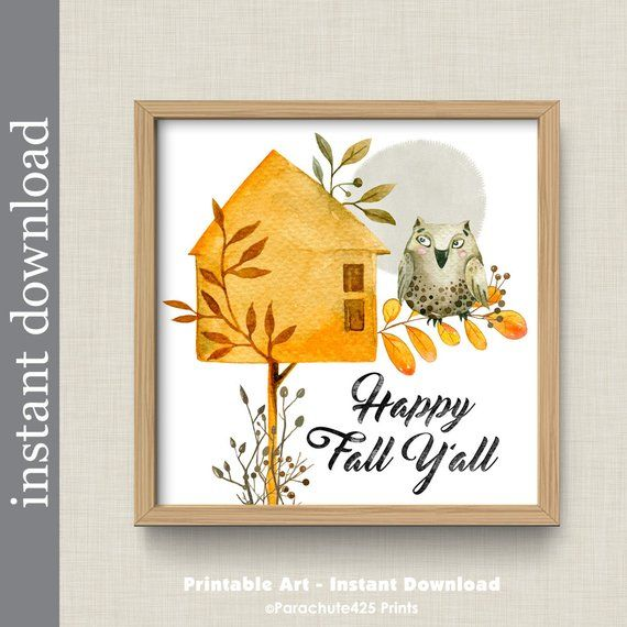 This is an image of Printable Fall Decorations in printable editable